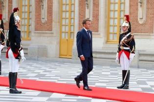 NEWS : Macron recoit le Prince Heritier du Japon au chateau de Versailles - 12/09/2018