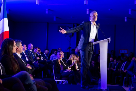 NEWS : Reunion publique de Laurent Wauquiez - Paris - 20/11/2017