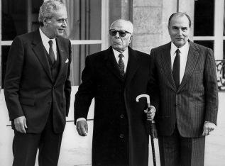 Bourguiba-Mitterrand