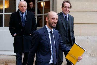 NEWS : Matignon - Les chefs de partis et des representants des gilets jaunes recus - Paris - 03/12/2018