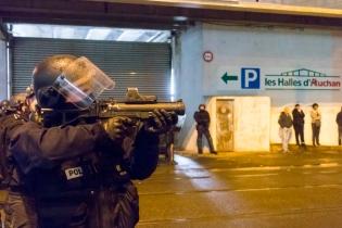 NEWS : Echauffourees entre les jeunes et la police - Bobigny - 16/02/2017