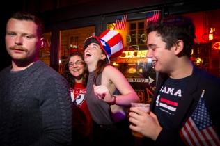 NEWS : Soiree des elections Americaine a Paris - 08/11/2016