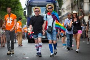 NEWS : Gay Pride - Marche des fiertes - Paris - 24/06/2017