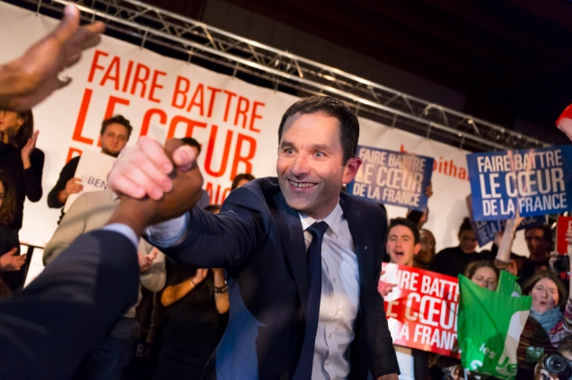 NEWS : Meeting de Benoit Hamon - Paris - 18/01/2017