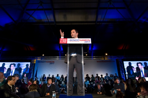 NEWS : Grand Meeting de Benoit Hamon - Paris - 14/12/2016