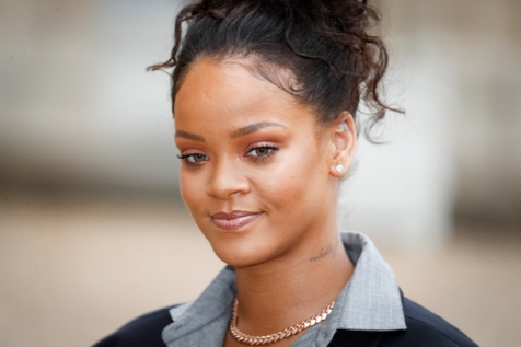 NEWS : La chanteuse RIHANNA a l Elysee - Paris - 26/07/2017