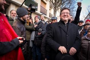 NEWS : Jean Luc Melenchon presente son programme - Paris - 14/01/2017