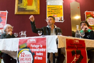 NEWS : Debat avec Olivier Besancenot - Saint Denis - 31/03/2017