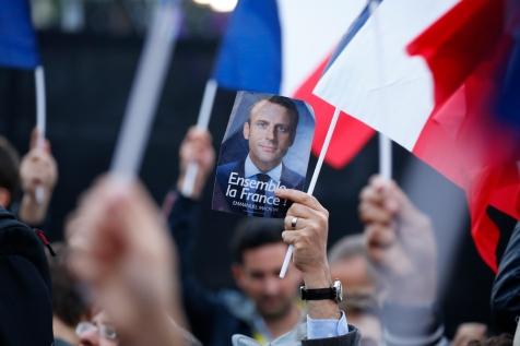 NEWS : Emmanuel Macron elu President de la Republique - Paris - 07/05/2017